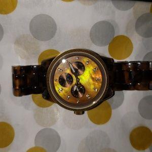 Jet Set Tortose Shell Watch